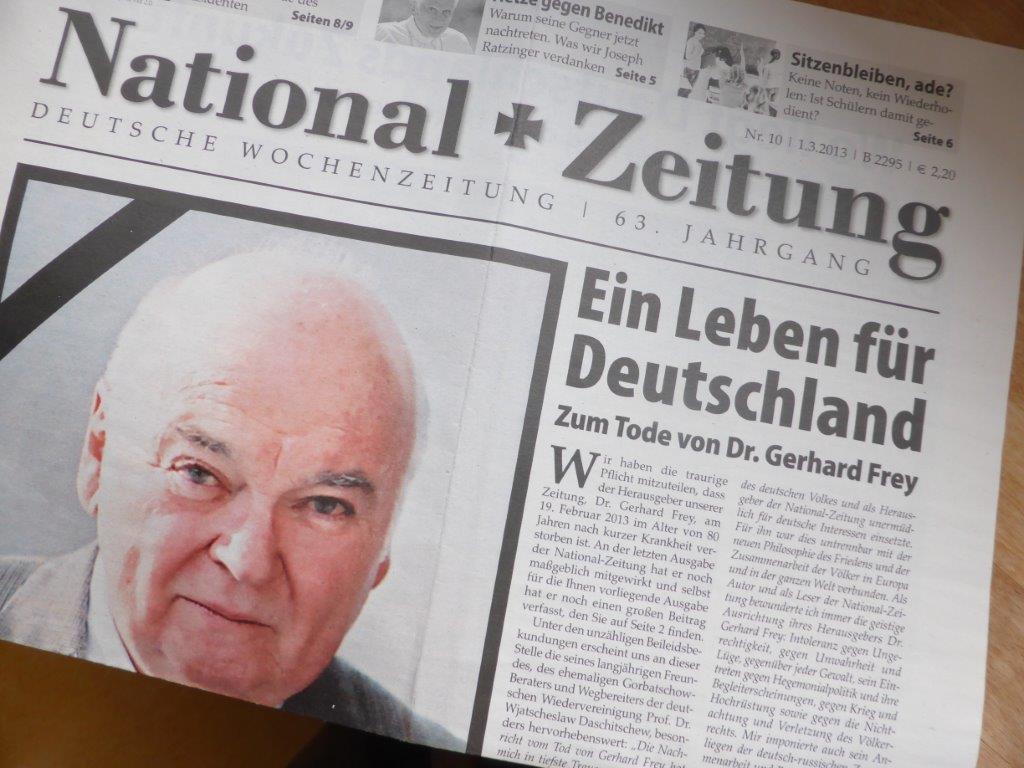 Aus für die National-Zeitung – ein Blick zurück