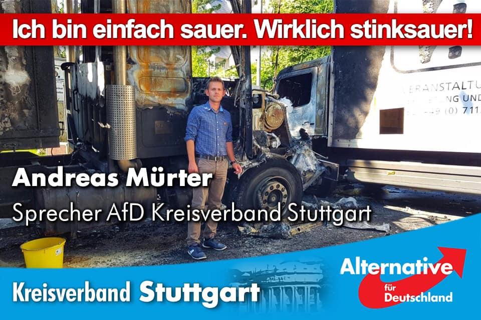 Überfall von Linksextremisten in Stuttgart