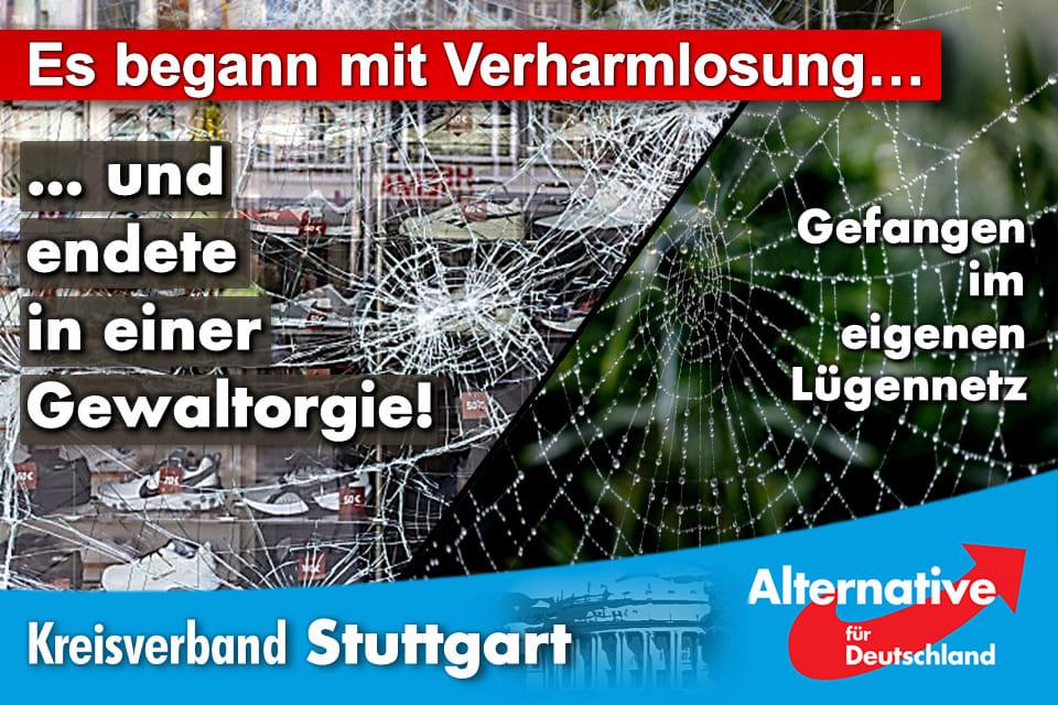 Was geschah in Stuttgart, wer plante und exekutierte das?