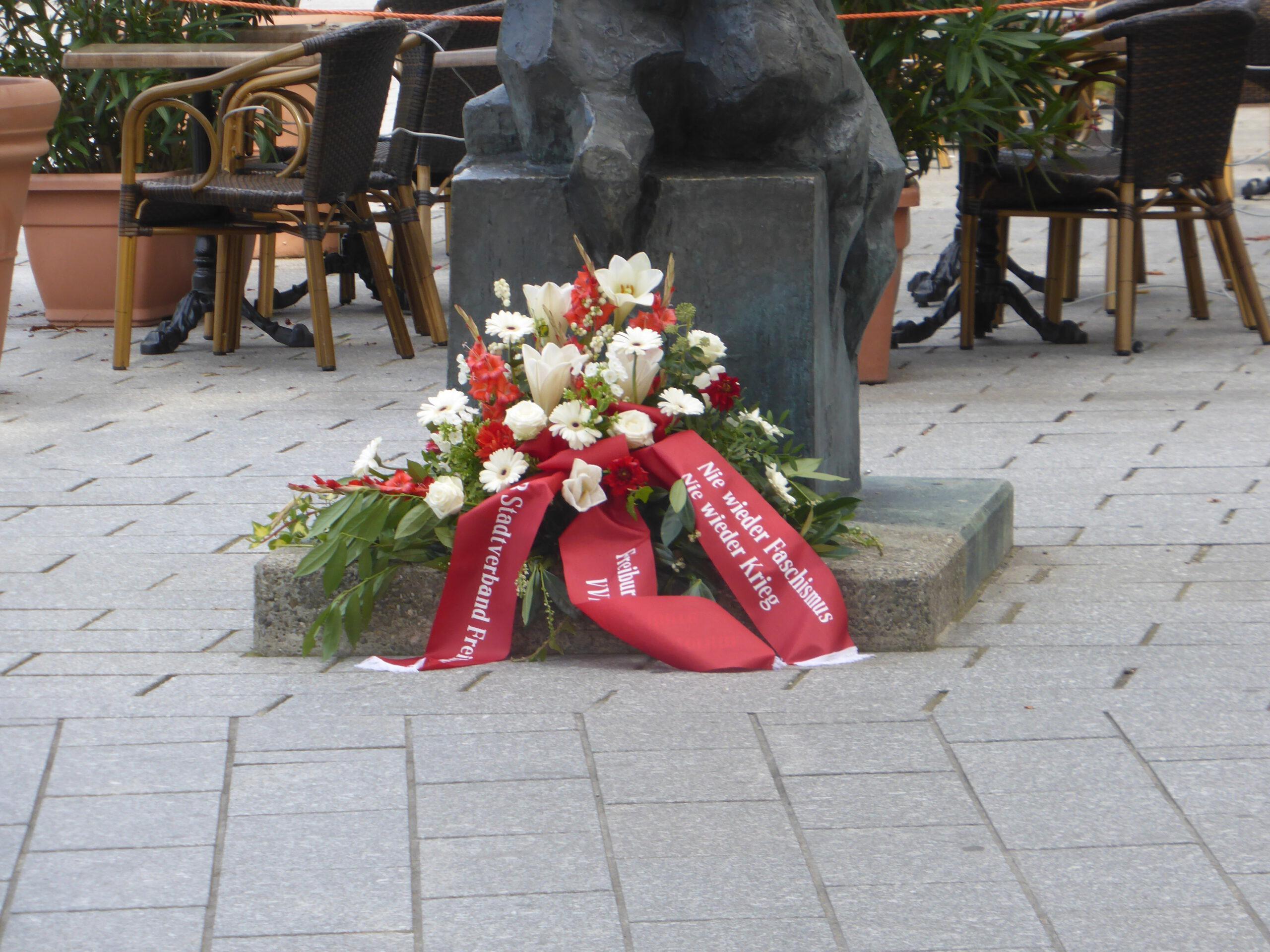 Antikriegstag in Freiburg