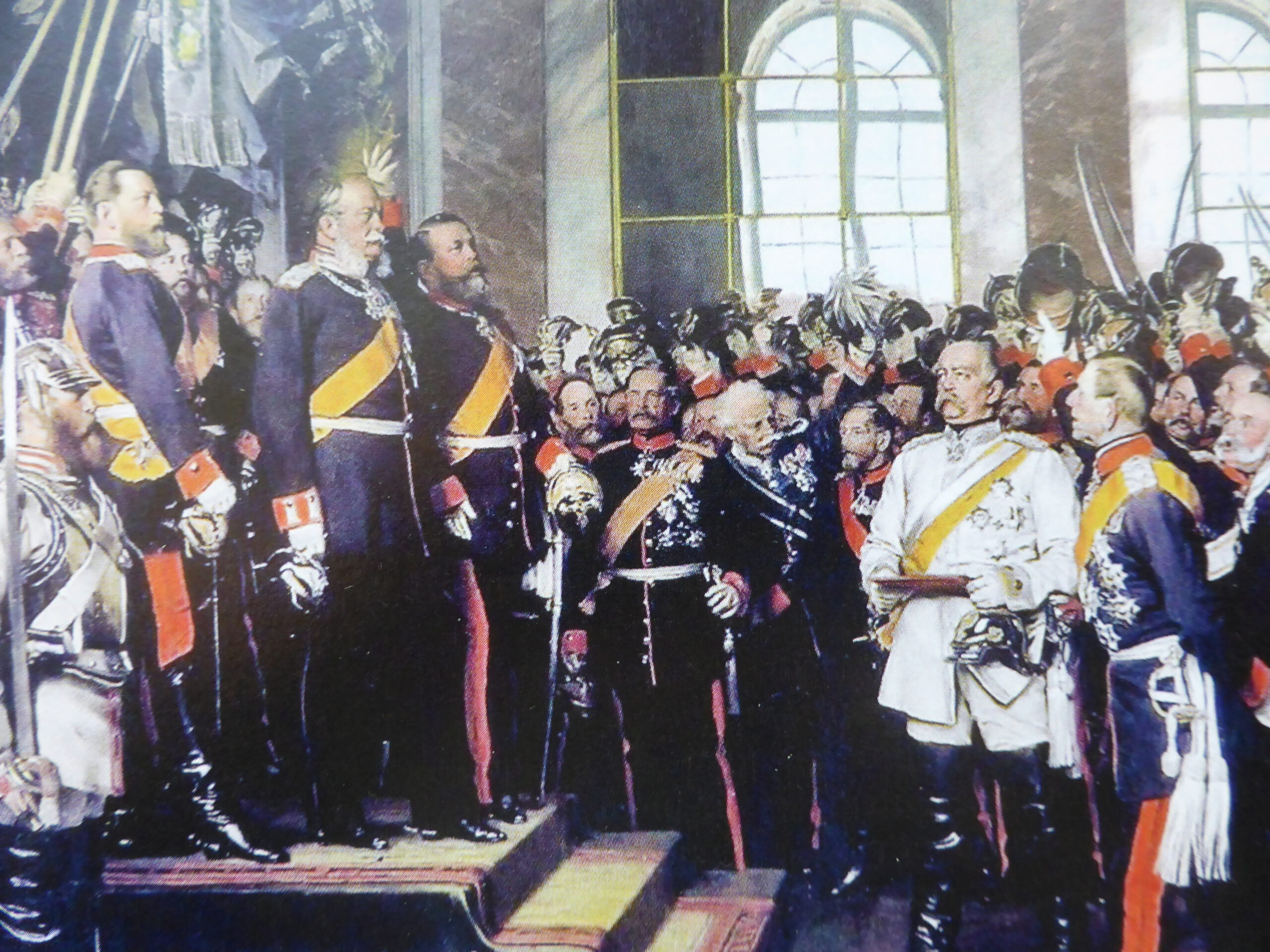 Reichsgründung vor 150 Jahren