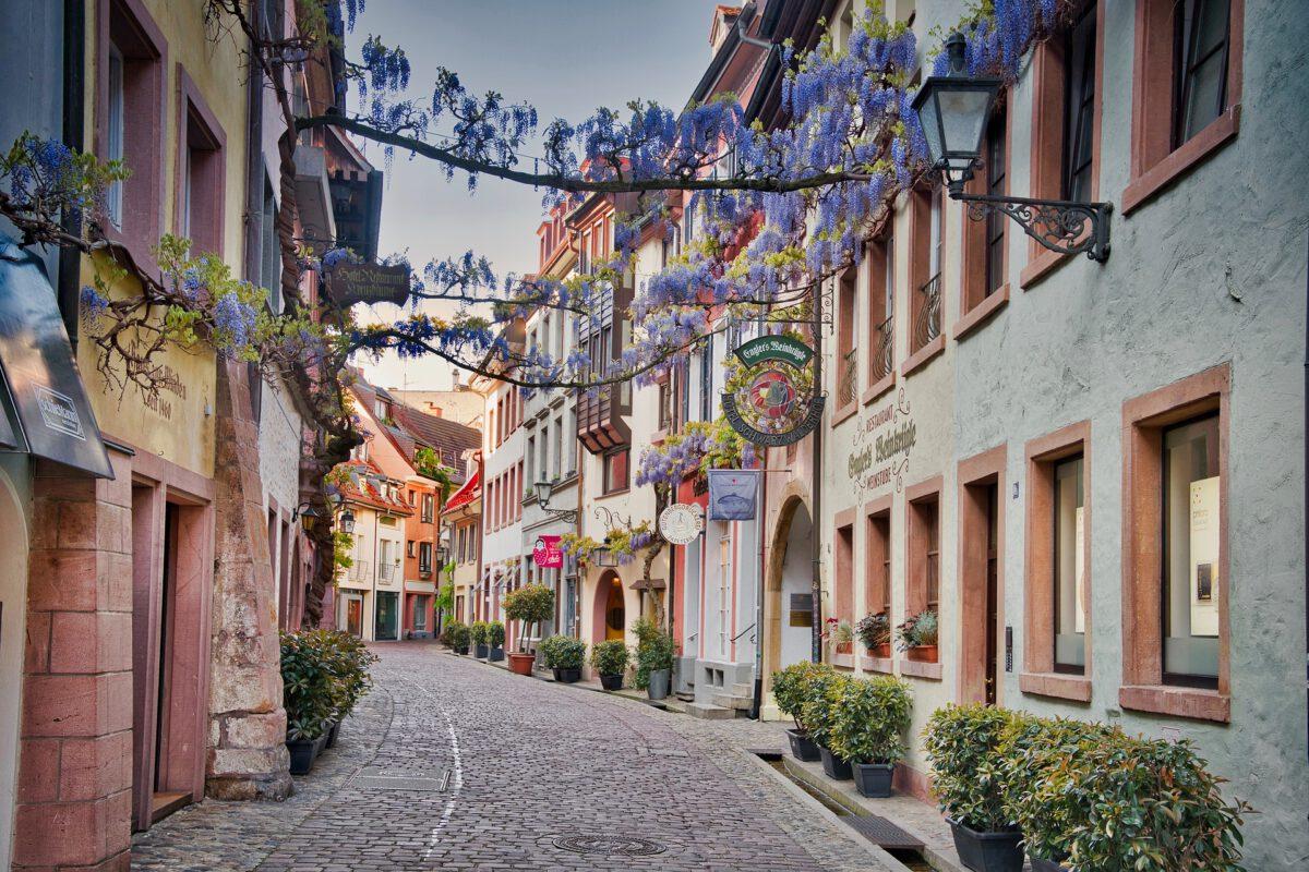 Der Corona Lockdown macht Freiburger Innenstadt sehr zu schaffen